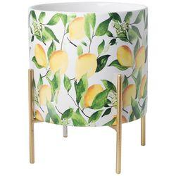 Home Essentials 5.5'' Lemon Ceramic Planter