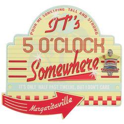 Margaritaville 5 O'Clock Somewhere Wall Sign