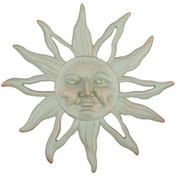 San Pacific Sun Face Wall Plaque