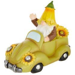 Sunflower Gnome Car Decor