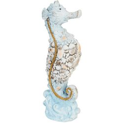Cement Seahorse Statue