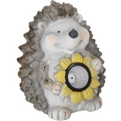 Fancy That Solar Light Porcupine Statue