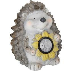 Solar Light Porcupine Statue