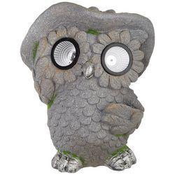 Galt International Owl Solar Light Statue