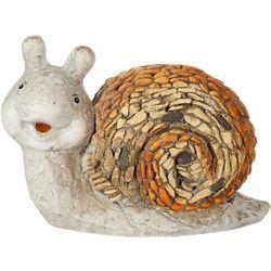 Galt International Smiling Snail Garden Statue