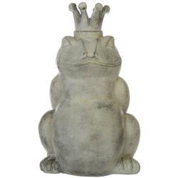 Frog King Garden Statue
