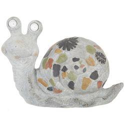 Galt International Mosaic Snail Garden Statue