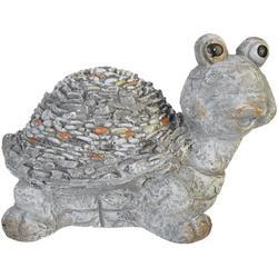 Pebble Turtle Garden Statue