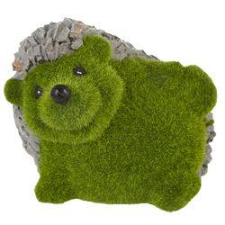 Moss Finish Hedgehog Garden Statue