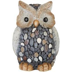 Pebble Owl Garden Statue