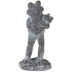 Frog Family Garden Statue