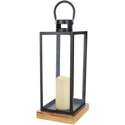 Galt International 17'' Decorative Candleholder Lantern