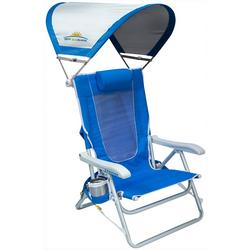 Backpack Foldable Chair With Shade