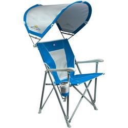 Foldable Captain Chair With Shade