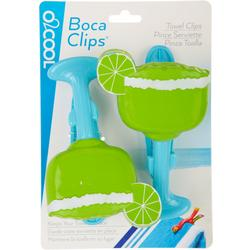 2-pc. Margarita Beach Clip Set