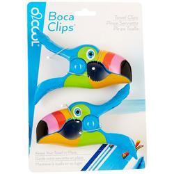 2-pc. Toucan Beach Clip Set