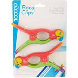 2-pc. Parrot Beach Clip Set