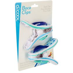Boca Clips 2-pc. Dotted Flip Flop Beach Clip