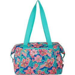 Tackle & Tides Tropical Floral Duffle Bag