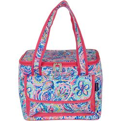 Tackle & Tides Flamingo Paisley Cooler Tote