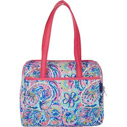 Tackle & Tides Flamingo Paisley Lunch Tote