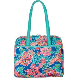 Tropical Floral Lunch Tote