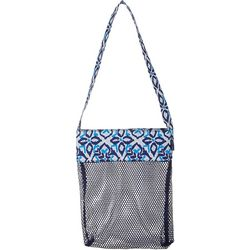 Ikat Mesh Shell Bag