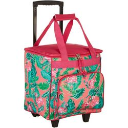 Tropix Flamingo Fresh Rolling Cooler