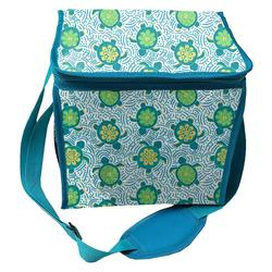 Sea Turtle Collapsible Cooler Tote
