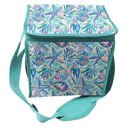 Coastal Home Shell Collapsible Cooler Tote