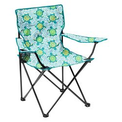 Coastal Home Sea Turtle Quad Chair