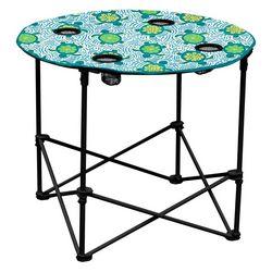 Coastal Home Sea Turtle Foldable Round Table