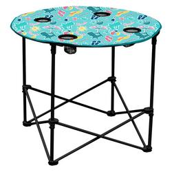 Beach Umbrella Foldable Round Table