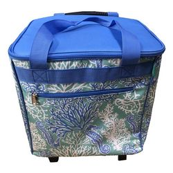 Coastal Home Coral Sea Rolling Cooler