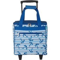 Coastal Home Roped Anchor Rolling Cooler
