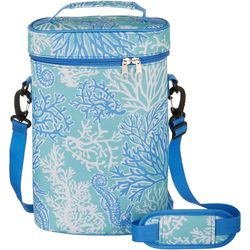 Coral Sea Double Wine Tote