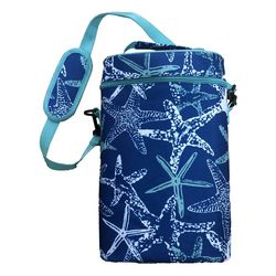 Coastal Home Starfish Double Wine Tote
