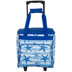 Tropix Starfish Stripes Rolling Cooler