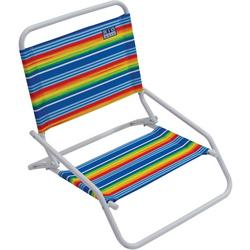 Brands 1 Position Striped Beach Chair