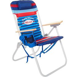 Tommy Bahama 4 Position Relax Stripe High Backpack Chair