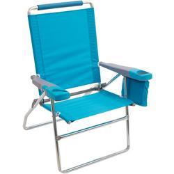 4 Position Highboy Solid Beach Chair