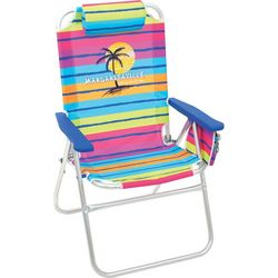Striped Big Shot Chair