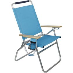 Rio Brands 4 Position Solid Beach Chair