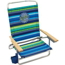 Tommy Bahama 5 Position Relax Stripe Print Beach Chair