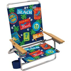 Rio 5 Position Beach Stamp Beach Chair