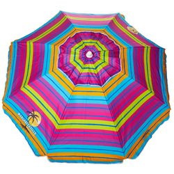 6.5' Stripe Beach Umbrella