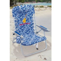Margaritaville Guitar Hibiscus 4 Position Lace Up Chair