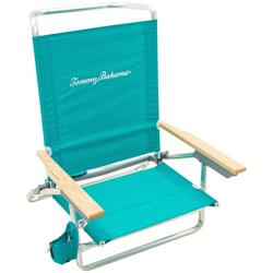 5 Position Solid Beach Chair