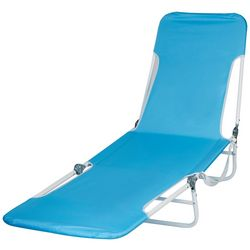 Rio Solid Backpack Lounge Beach Chair