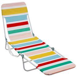 Striped Backpack Lounge Beach Chair
